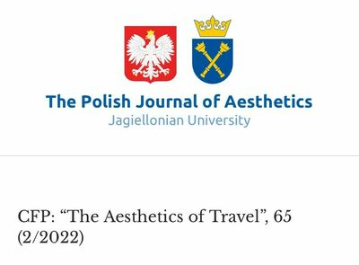 "CFP: ""The Aesthetics of Travel"", 65 (2/2022)"