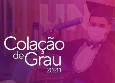 colação de grau 2021-1