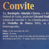 Convite -Rosângela Chaves