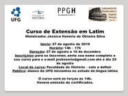 curso latim