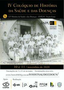 IV Colóquio de História da Saúde e das Doenças