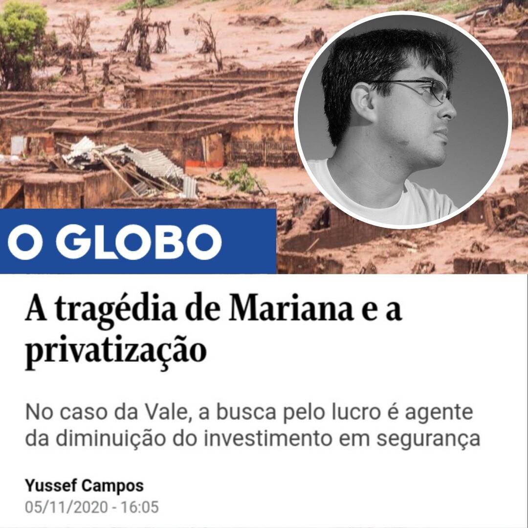 Yussef - A tragédia de Mariana e a privatização