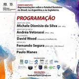 """Palestra """"Representações sobre o futebol feminino no Brasil, na Argentina e na Inglaterra."""