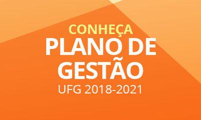 Plano de Gestão da UFG 2018-2021