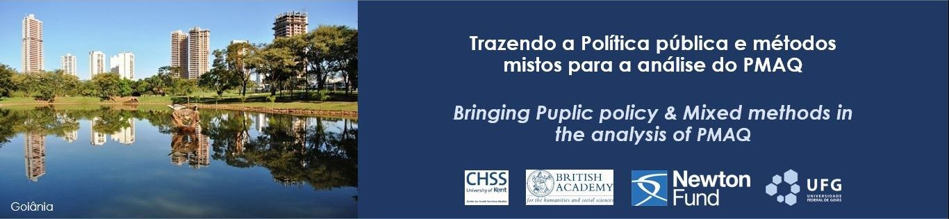 Banner2 - Bringing Public Policy and Mixed methods to the analysis of PMAQ/Brazilian P4P program