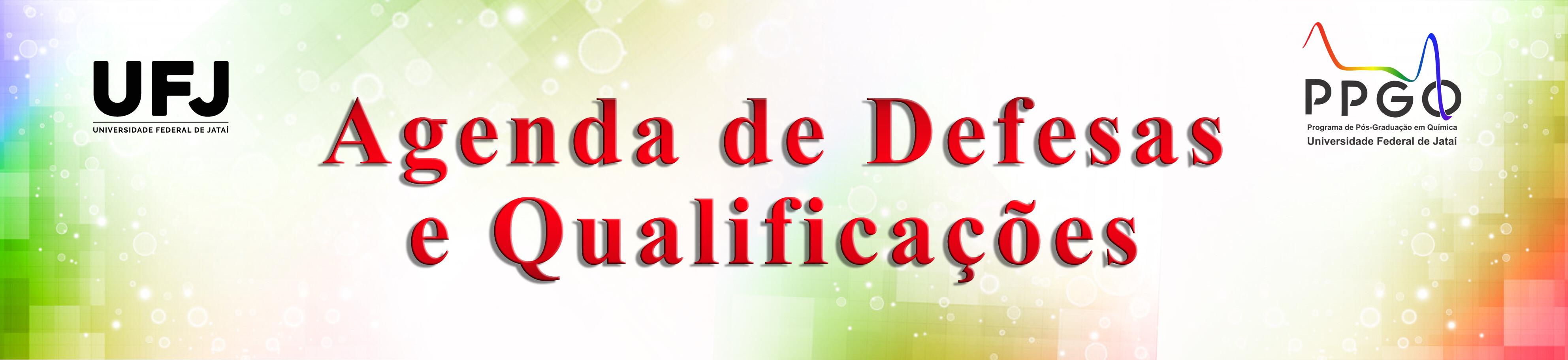 Agenda de Defesas e Qualificações