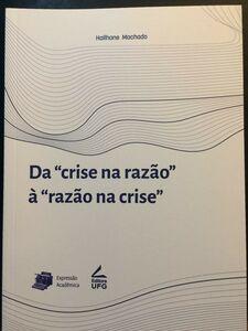 Livro Da crise da razão à razão na crise 3