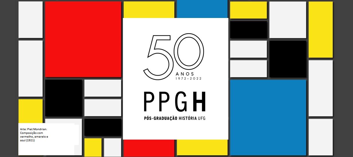 Banner 50 anos PPGH Mondrian 5