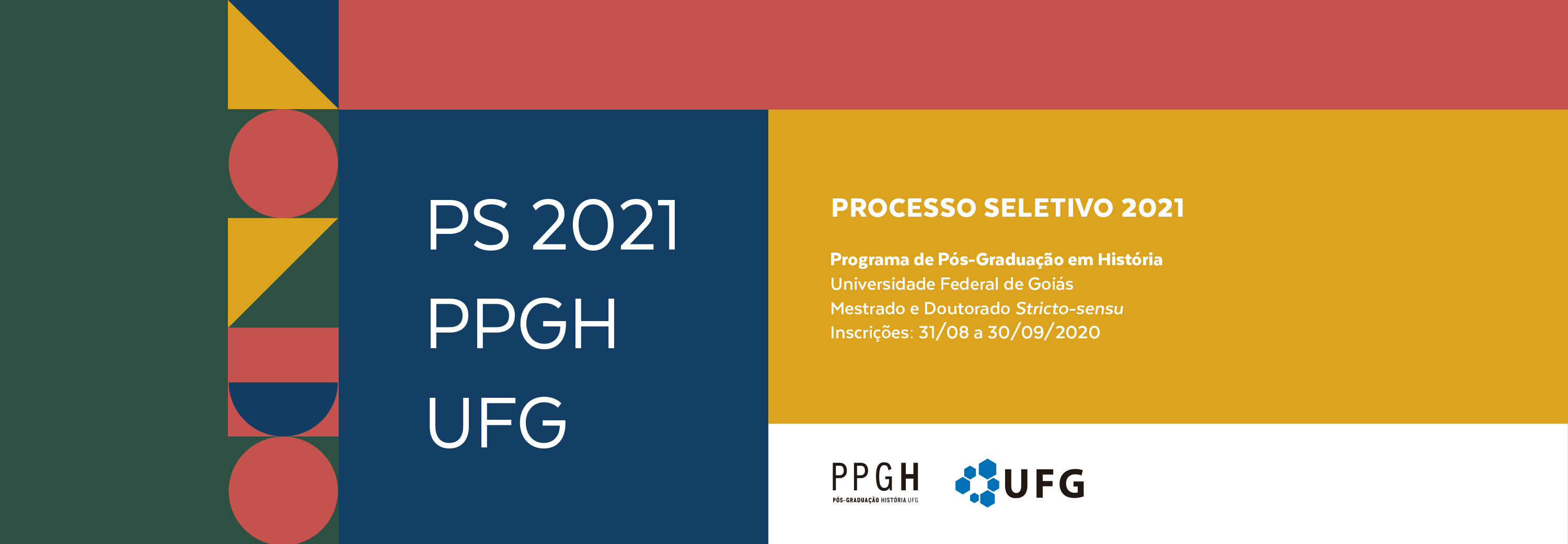 Banner Site PS PPGH UFG 2021