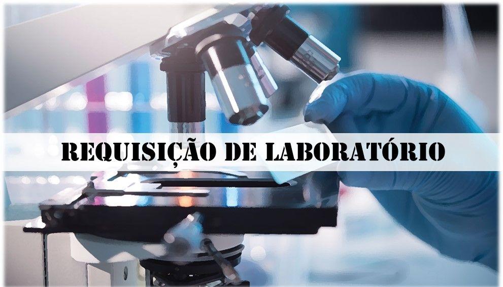 Banner para direcionamento do formulário de requisição dos laboratórios do curso de Medicina