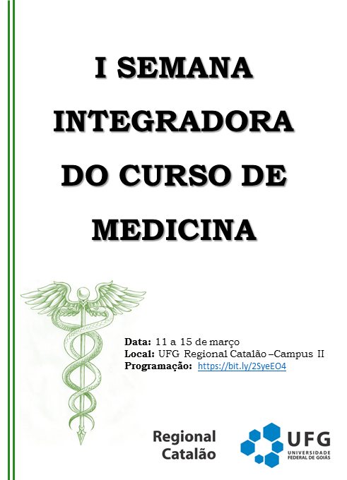 Semana Integradora 2019.1 flyer
