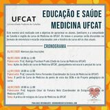 Divulgação do evento online - Educação e Saúde Medicina UFCat