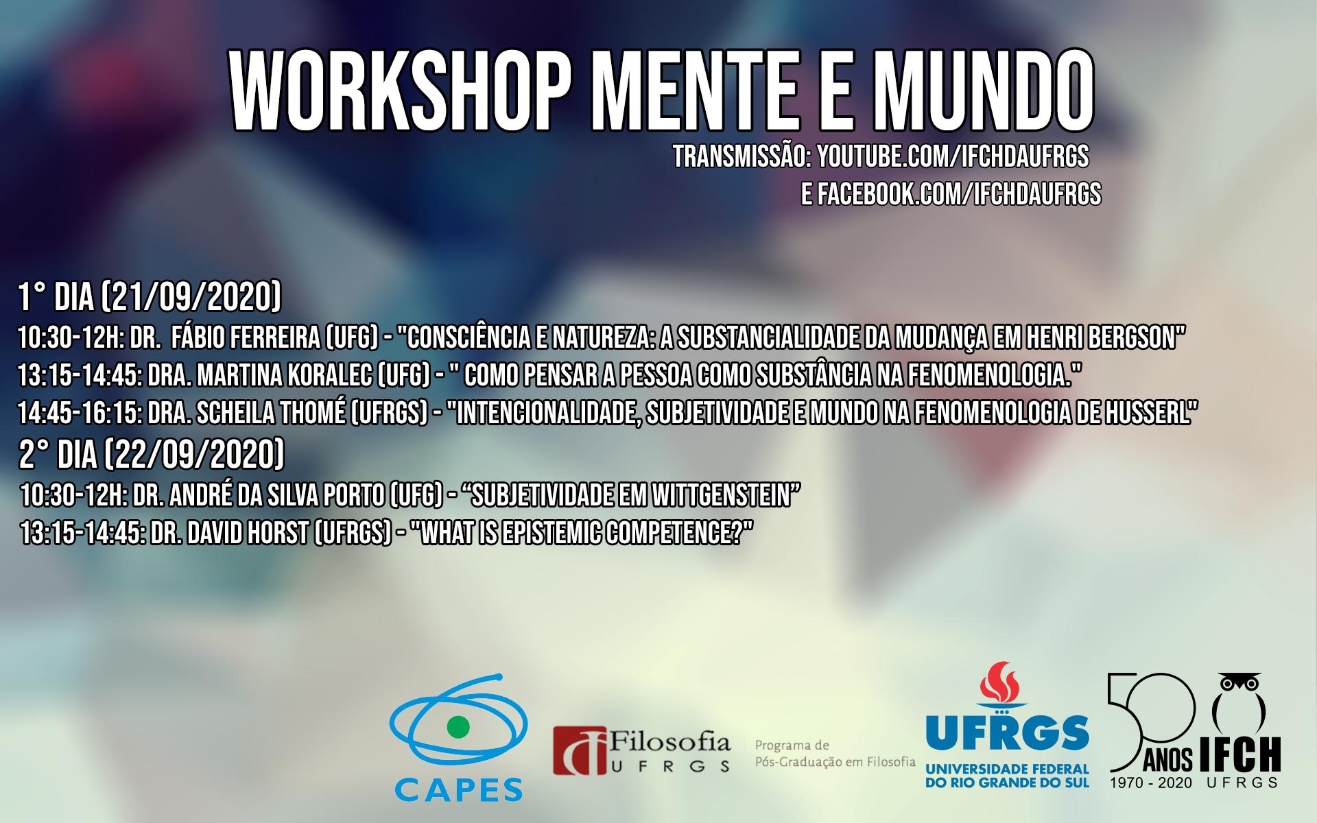 workshop mente e mundo
