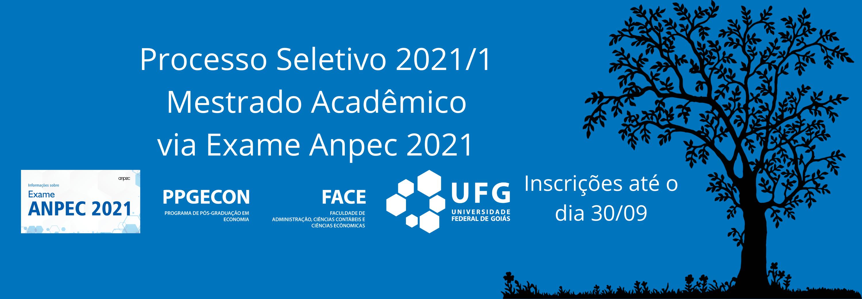 processo seletivo mestrado 2021