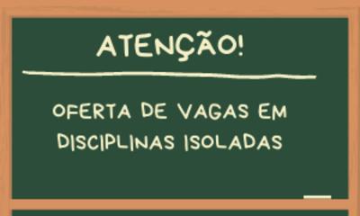 OFERTA DE VAGAS DIS ISOLADAS