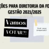eleiçoes diretoria fd 2021/2025