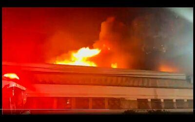 Incendio cinemateca foto redebrasilatual