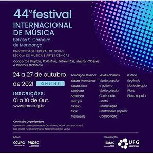 44 Festival Internacional de Música EMAC