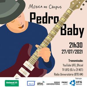 Pedro Baby Musica no campus