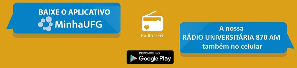 App Minha UFG - Rádio Universitária