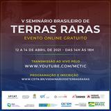 V SEMINÁRIO BRASILEIRO DE TERRAS RARAS