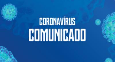 Comunicado corona