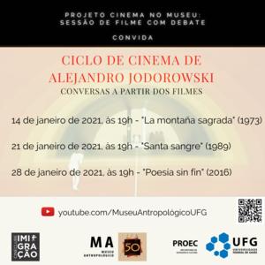 Ciclo de Cinema Alejandro Jodorowski