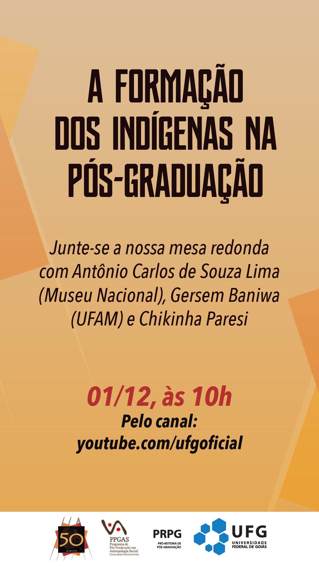 Formação indígenas na pós-graduação