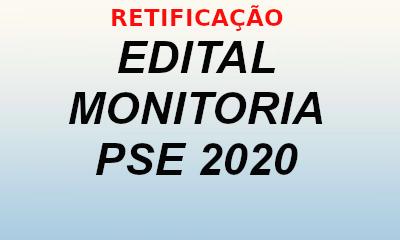 RETIFICAÇÃO EDITAL 01/2020