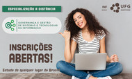 Capa Especialização Governança Gestão Sistemas TI