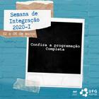 Capa Semana Integração 2020-1
