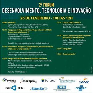 2º Fórum de Desenvolvimento, Tecnologia e Inovação de Goiânia