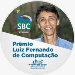 Foto Premio Luiz Fernando Computação