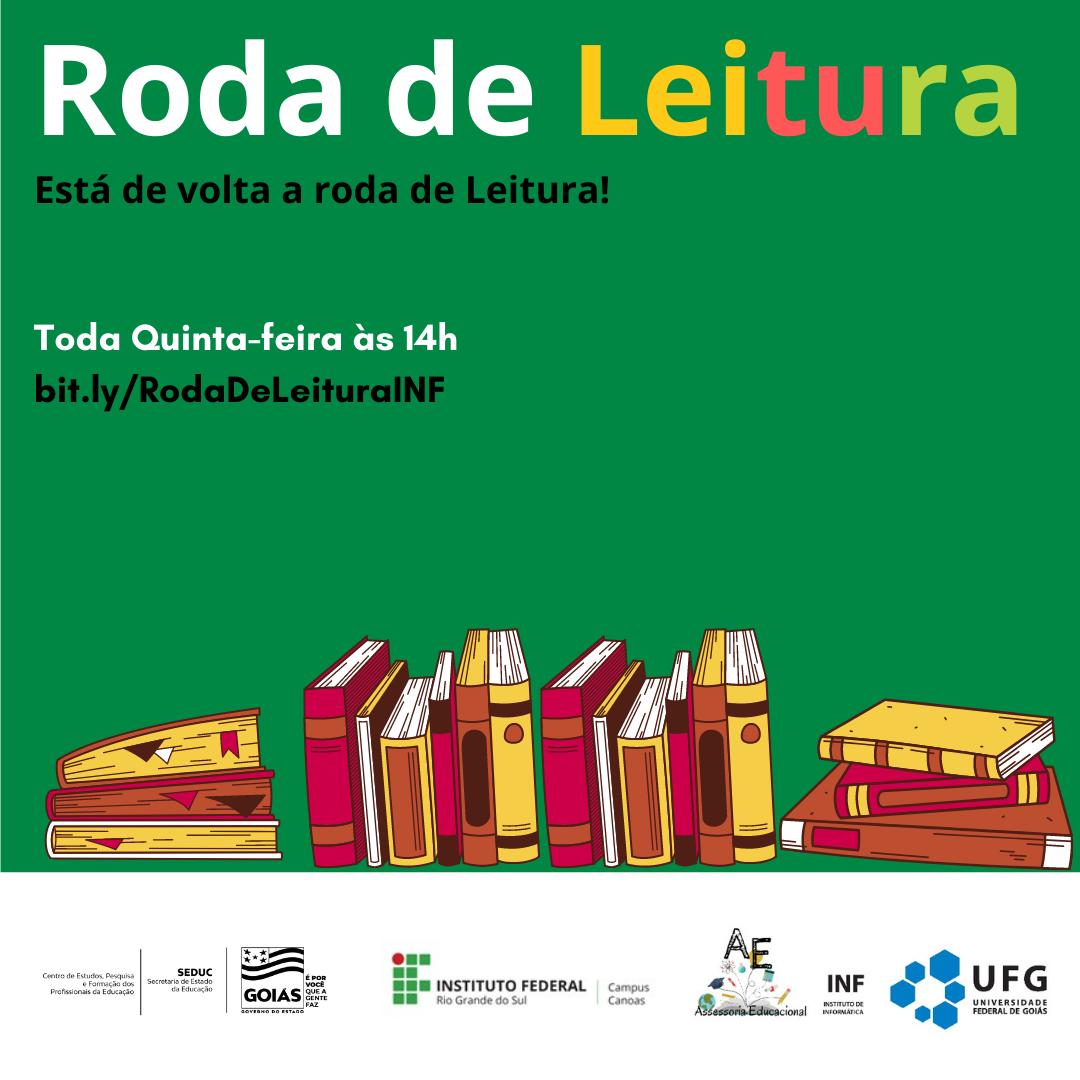 Banner Roda de Leitura Genérico