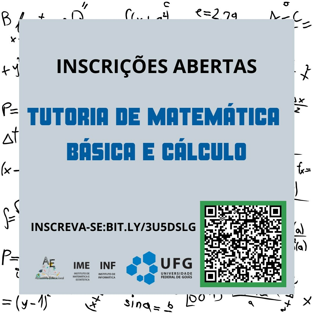 Tutoria Matemática Banner
