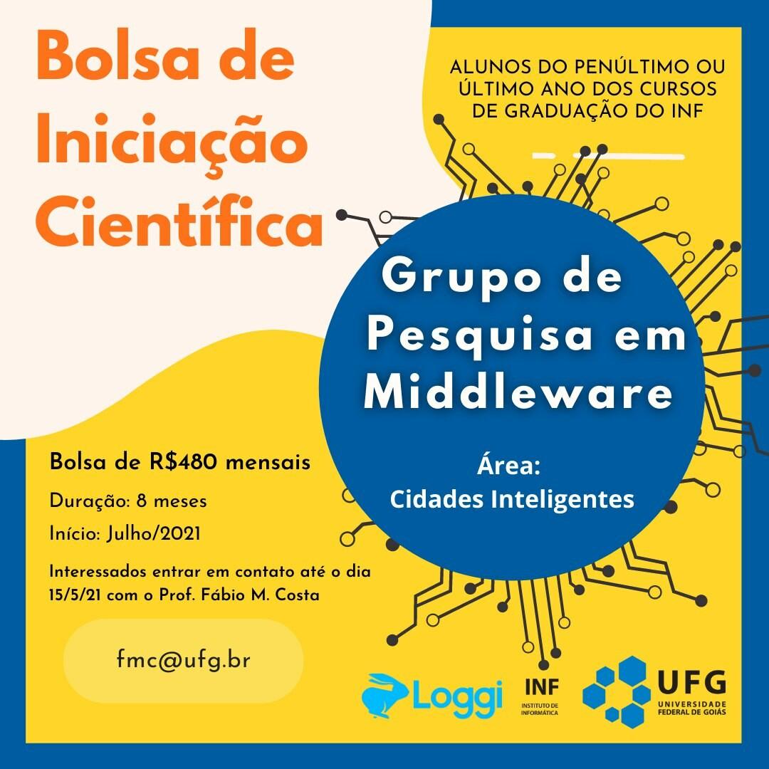 Banner Bolsa Iniciação Científica