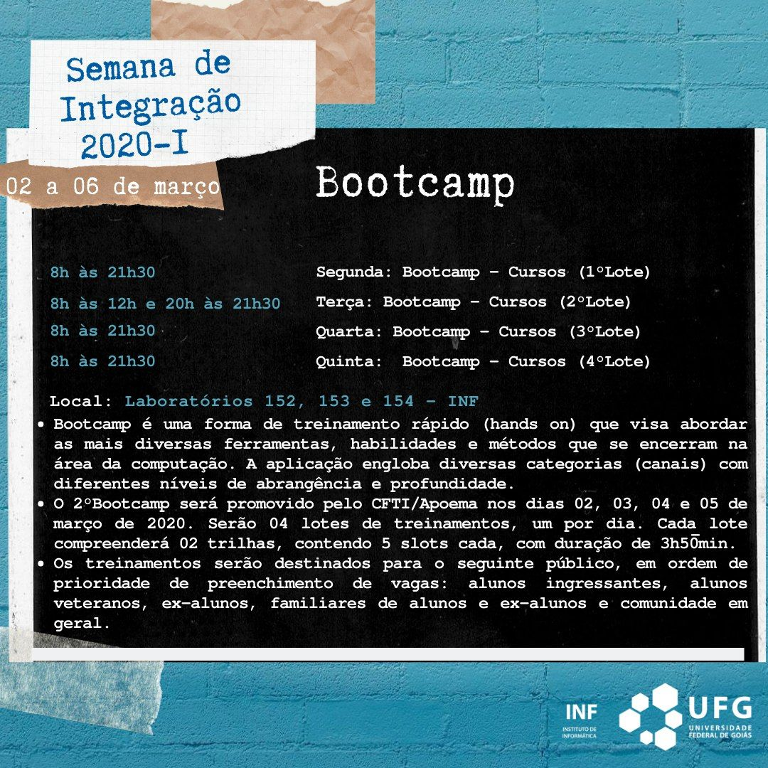 Bootcamp geral