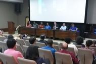 Reitor participa da abertura do Seminário, juntamente com representantes da UFG, do município e do Movimento Negro