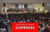 Suspensão Colações de Grau18.3
