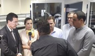 Vereadora Doutora Cristina visita Parque Tecnológico da UFG