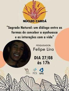 Banner de apresentação Felipe