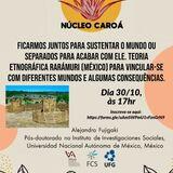 Banner da apresentação do dia 30/10/2020