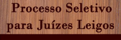 Noticia - Juizes leigos