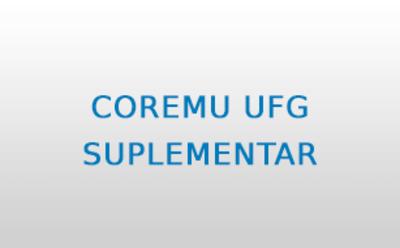 COREMU UFG SUPLEMENTAR