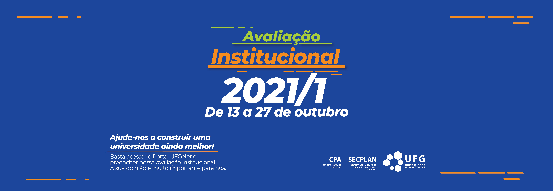 Avaliação institucional 2021