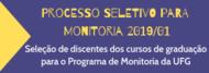 Processo Seletivo para Monitoria 2019/01