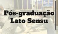Pós-graduação Lato Sensu (1)