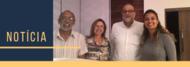 Carlos Eduardo Anunciação (ICB), Sandra Brunini (FEN); Amílcar Tanuri (UFRJ) e Elisângela Sulveira-Lacerda (ICB).