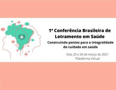 1ª Conferência Brasileira de Letramento em Saúde capa2