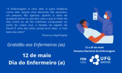 12 a 20 de maio Semana Nacional da Enfermagem